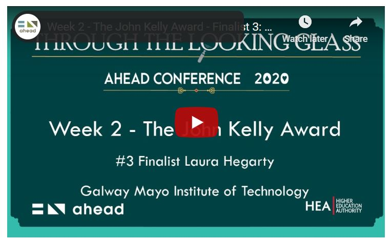 Laura Hegarty UDL Ahead Conference Through the Looking Glass